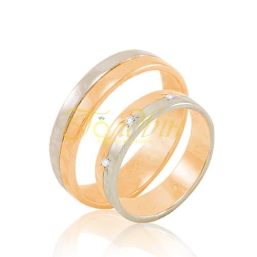 Обручальные кольца. К1005