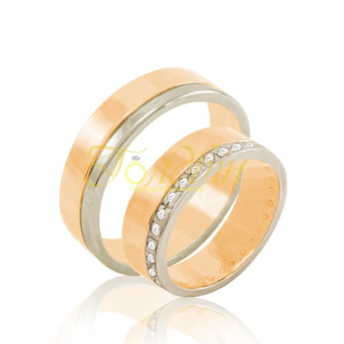 Обручальные кольца. К1006