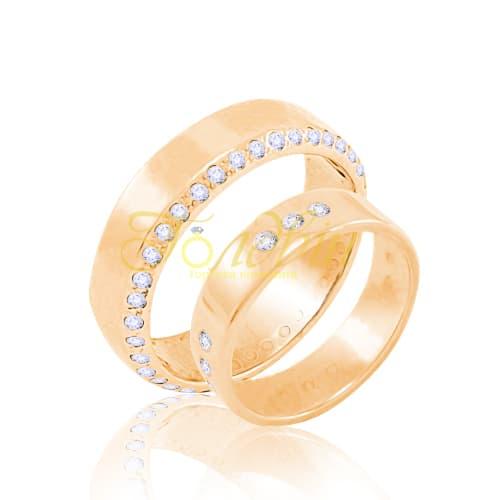 Обручальные кольца. Кв1007
