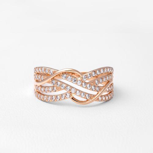 Широкое золотое кольцо К1831