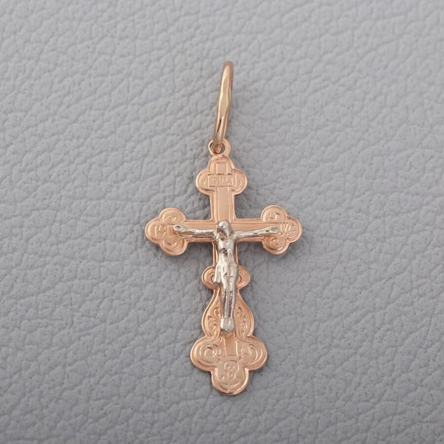 Золотой детский крестик П03039