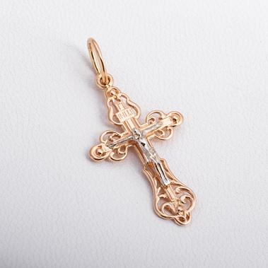 Золотой детский крестик П03021