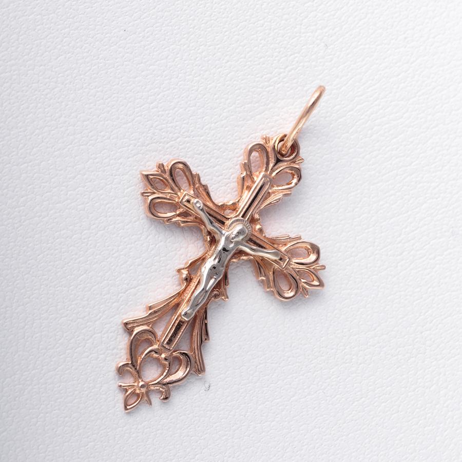 Золотой крестик. П510