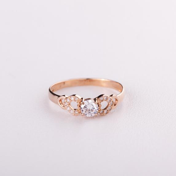 Золотое кольцо для предложения К1670