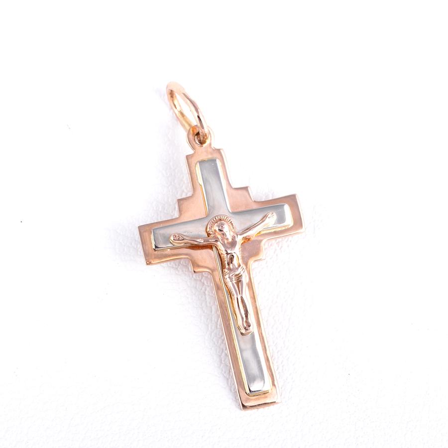 Золотой крестик. П480
