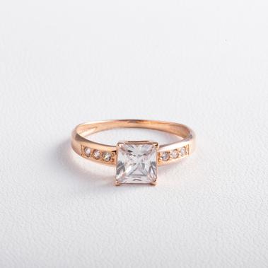 Золотое кольцо с фианитами K1845