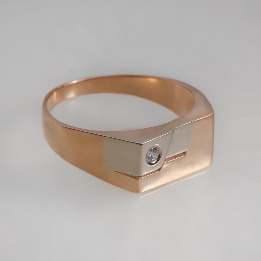 Печатка мужская золотая К1028