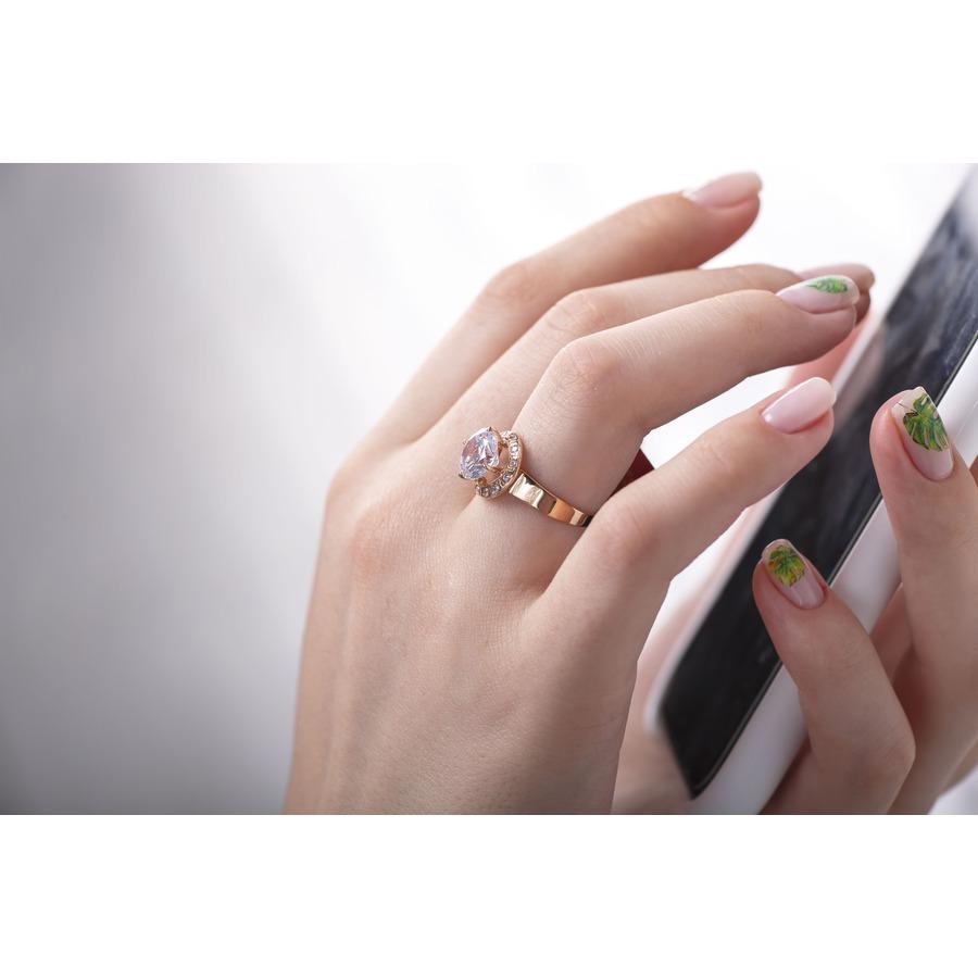 Кольцо золотое для предложения девушке К1476