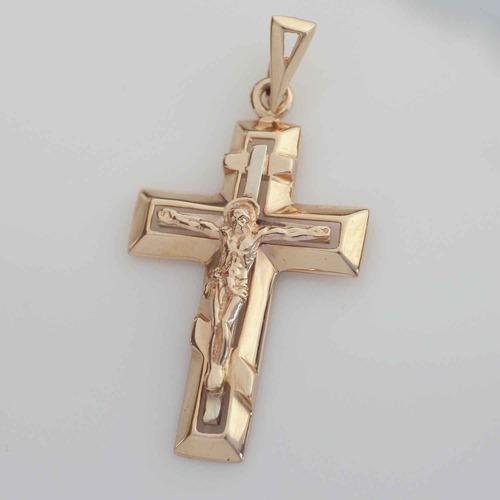 Золотой крестик. П468