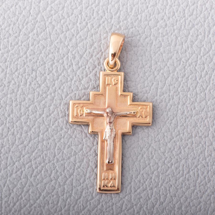 Золотой крестик детский П030933