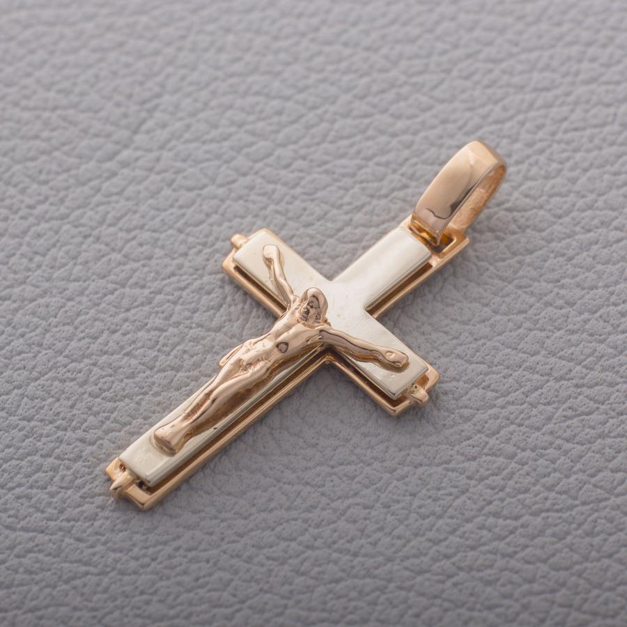 Золотой крестик. П479