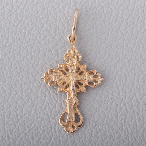Золотой крестик. П514