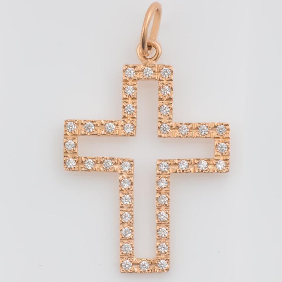 Золотой крестик. П437