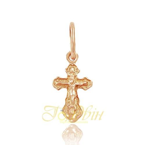 Золотой крестик. П522