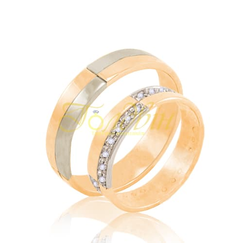 Обручальные кольца. К1003