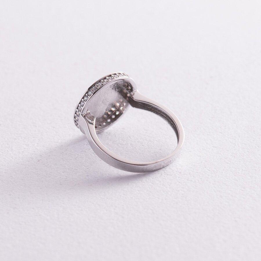 """Кольцо """"Давина"""" в белом золоте (фианиты) к06912"""