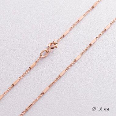 Цепочка в красном золоте (1.8 мм) ц00433