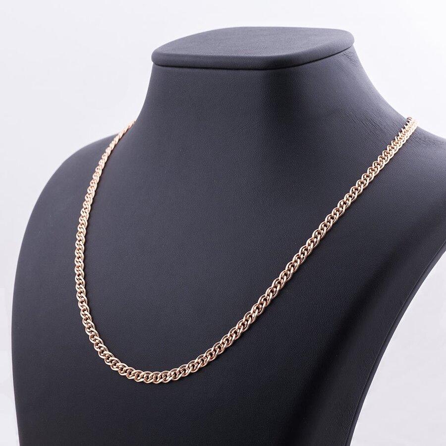 Золотая цепочка плетение Нонна (4.5 мм) ц00051-4.5