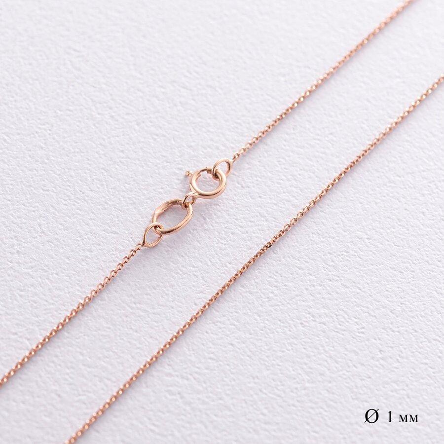 Золотая цепочка Якорное плетение ц00038ч