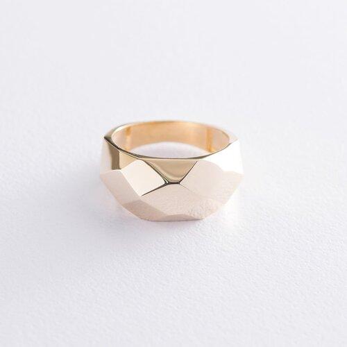 """Кольцо """"Совершенство"""" в желтом золоте к06535"""