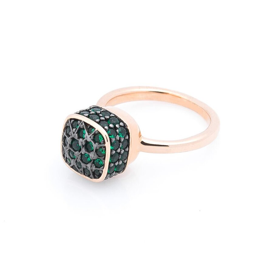 Золотое кольцо (фианиты) к05465