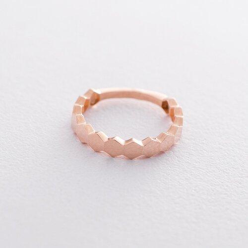 Золотое кольцо без камней к06216