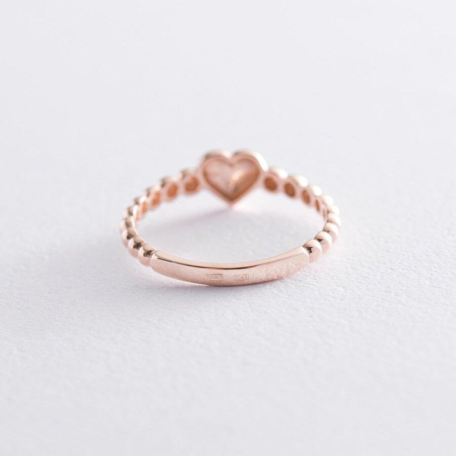 """Золотое кольцо """"Сердце"""" к06611"""