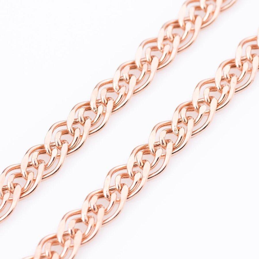 Золотая цепочка плетение Нонна (6 мм) ц00051-6