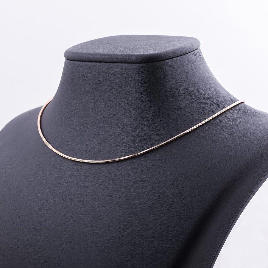 Золотая цепочка - Снейк (1.5 мм) ц00003-1.5