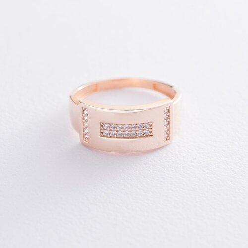 Золотое кольцо (фианиты) к06521