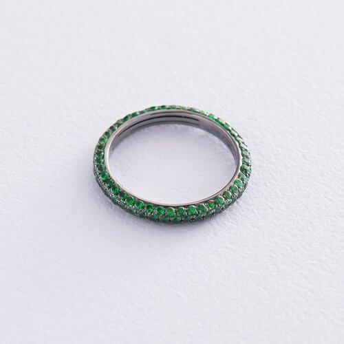 Золотое кольцо с демантоидом. кб0243sth