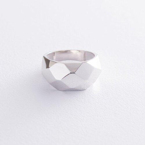 """Кольцо """"Совершенство"""" в белом золоте к06537"""