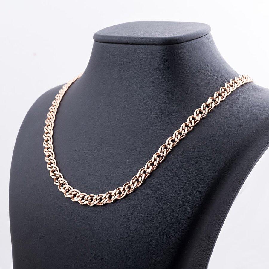 Золотая цепочка плетение Нонна (7.5 мм) ц00051-7.5