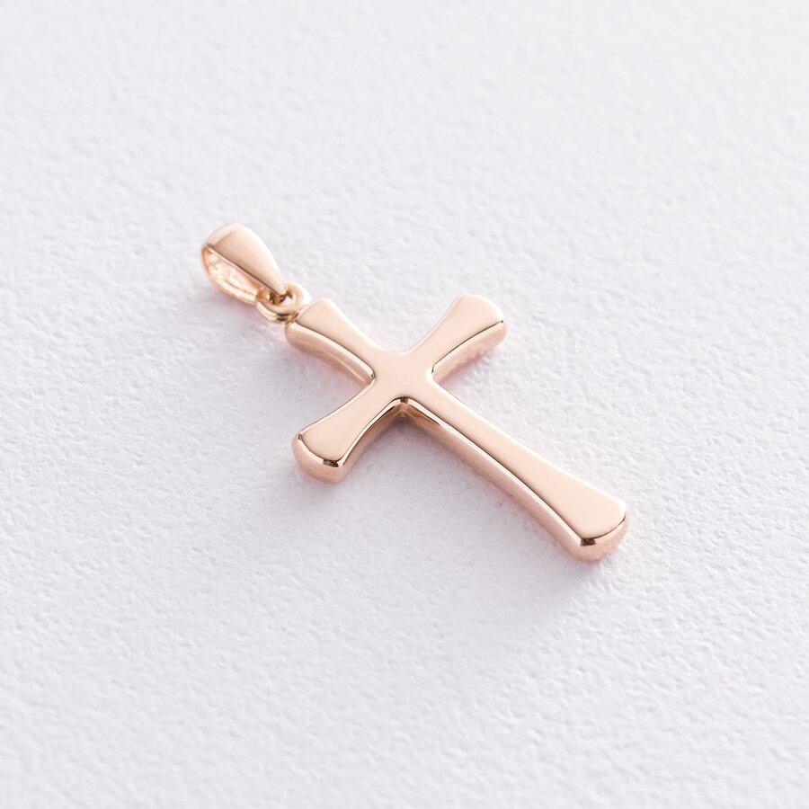 Золотой детский крестик п03361