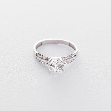 Помолвочное кольцо (фианиты) к03010
