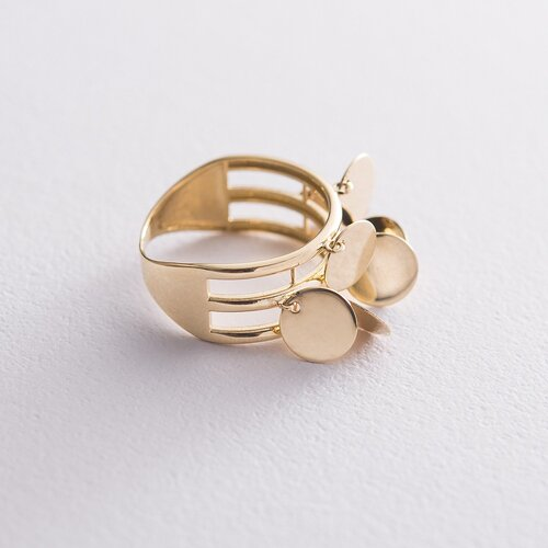 Золотое кольцо Монетки к06408