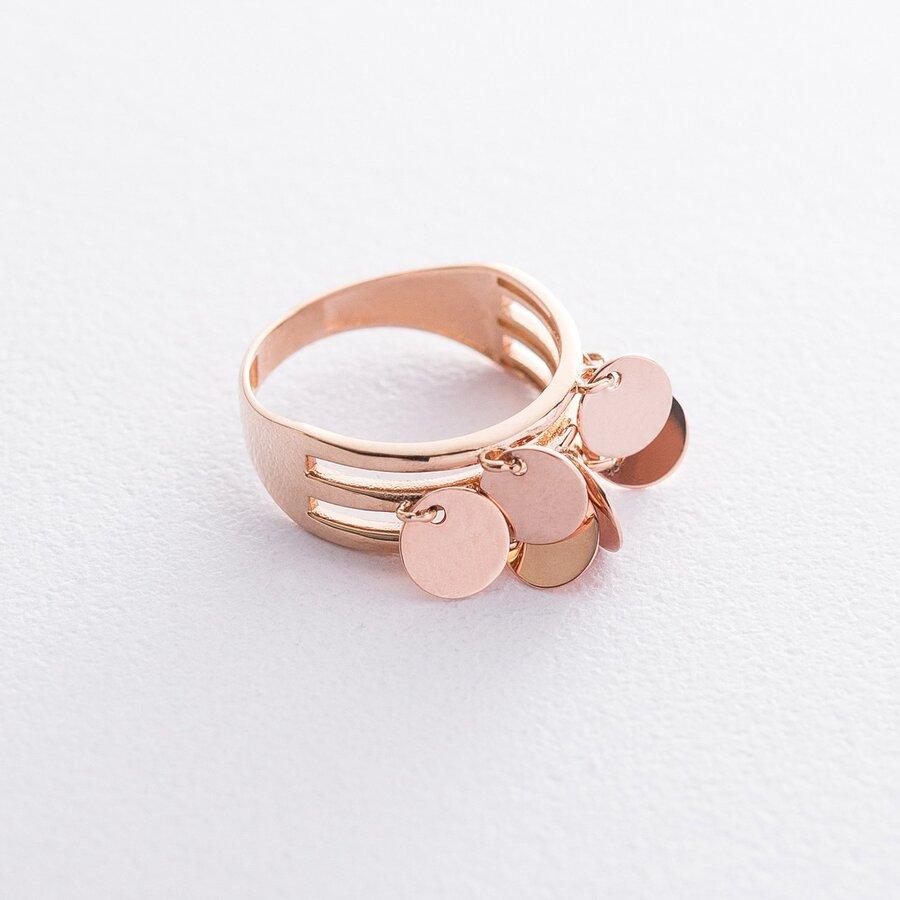 Золотое кольцо Монетки к06405