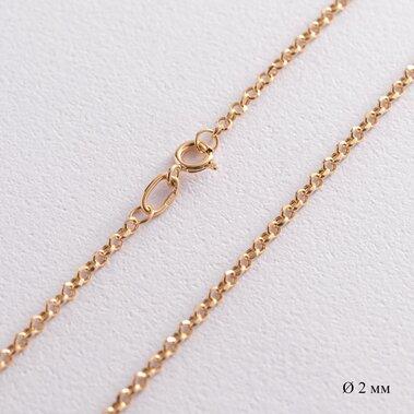 Золотая цепочка плетение Ролло (2.0 мм) ц00271