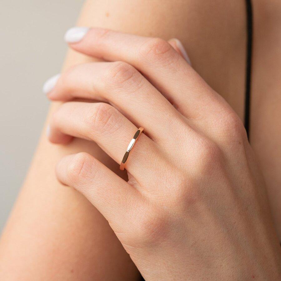 """Кольцо """"Далия"""" в красном золоте к06867"""