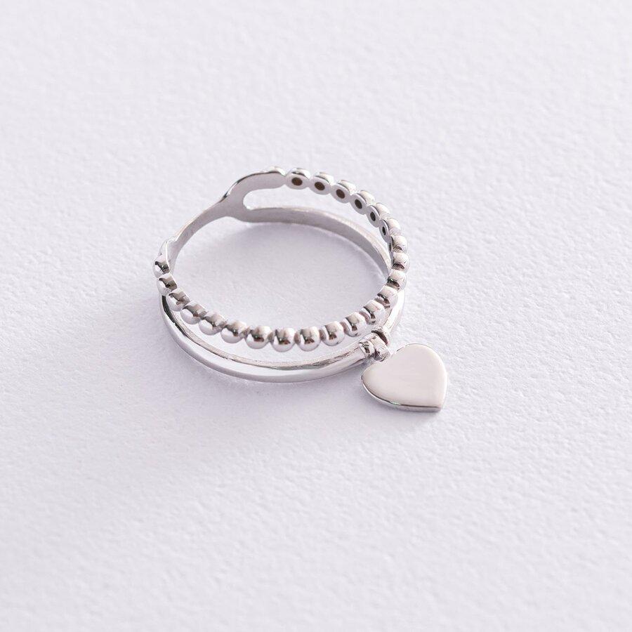 """Золотое кольцо """"Сердце"""" к05548"""