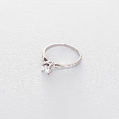 Золотое помолвочное кольцо (циркон Swarovski) к06296