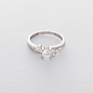 Золотое помолвочное кольцо (фианиты) к05203